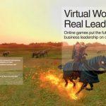 Pemimpin masa depan lahir di Online Games, IBM gaming report review, part 1.