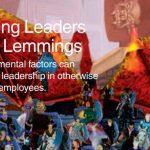 Online games memberikan kesempatan pemain untuk menjadi pemimpin yang handal. IBM Gaming report review part 2.