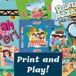 Wuah Banyak Banget Board Games Gratis Print and Play!